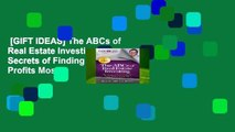 [GIFT IDEAS] The ABCs of Real Estate Investing: The Secrets of Finding Hidden Profits Most