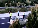 Τροχαίο με μηχανή στην εθνική οδό Αθηνών Λαμίας