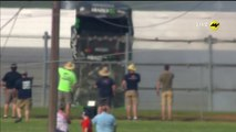 NASCAR_Monster Energy Series Cup 2019 Talladega Larson Massive Crash Rolls Flip Finish
