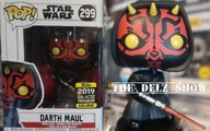 Star Wars Darth Maul Funko Pop 2019 Galactic Exclusive Celebration 2019 Detailed Look Review Episode 9