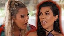 Kourtney Kardashian Reacts To Tristan Thompson & Khloe Kardashian Cheating Drama