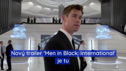 Nový trailer 'Men in Black: International' je tu