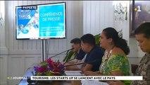 Tourisme : les start ups se lancent avec le tourisme  Nicole Bouteau, ministre du tourisme :