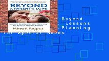 [MOST WISHED]  Beyond a Parent s Love: Lessons Learned in Life-Planning for Special Needs
