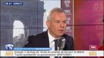"""Taxe sur le kérosène: pour François de Rugy, """"on ne peut pas continuer sur un accord mondial qui date de 1944"""""""