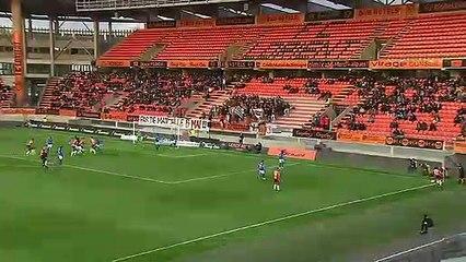 Le résumé de la rencontre FC Lorient - AJ Auxerre (2-2) 18-19