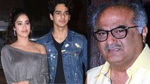 Jhanvi Kapoor reveals on Boney Kapoor's impression about Ishaan Khatter | FilmiBeat