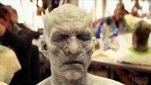Game of Thrones: The Night King (aka Vladimir Furdik) official prosthetics make-up