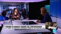 """Vidéo d'Abou Bakr Al-Baghdadi : """"c'est l'un des hommes les plus recherchés de la planète"""""""