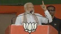 PM Modi ने जब Terrorists और Opposition को दी ये कड़ी चेतावनी | वनइंडिया हिंदी