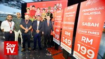 AirAsia adds 115,000 seats for Gawai, Kaamatan and Raya