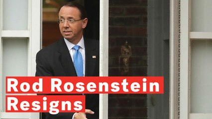 Deputy Attorney General Rod Rosenstein Resigns