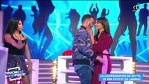 "Mia Frye et Shy'm s'embrassent dans ""TPMP"""