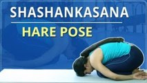 Learn How To Do The Hare Pose   Shashankasana  Simple Yoga For Beginners  Mind Body Soul
