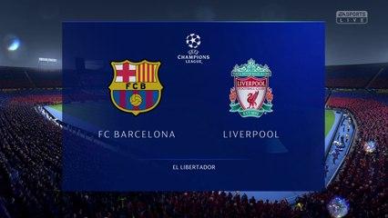 Barcelona vs. Liverpool - UEFA Champions League Semi-final 2018-19 - CPU Prediction