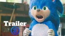 Sonic the Hedgehog Trailer #1 (2019) Jim Carrey, James Marsden Action Movie HD
