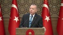 Cumhurbaşkanı Erdoğan: '2019 yılında 182 milyar dolar, 2023'te ise 500 milyar dolarlık bir ihracat rakamı hedefliyoruz' - ANKARA