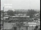 Villas de emergencia en la Capital Federal - Buenos Aires 1973