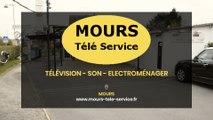 Mours Télé Service, vente et dépannage de télévisions, antennes, son, électroménager