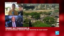 Crise au Venezuela : Guaido appelle les soldats au soulèvement, Maduro dit l'armée loyale