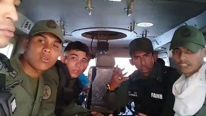 Algunos militares de Altamira aseguran haber ido engañados Ú