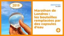 Marathon de Londres : les bouteilles remplacées par des capsules d'eau