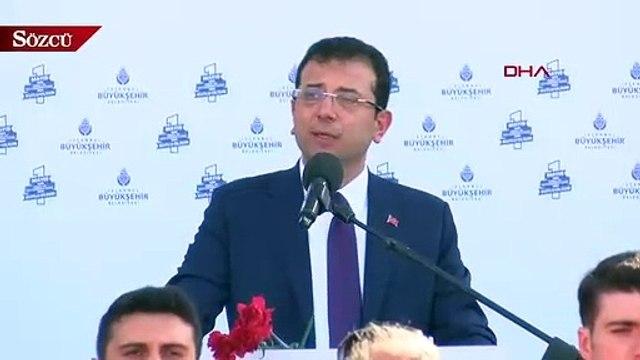 İBB Başkanı Ekrem İmamoğlu çalışanların 1 Mayıs'ını kutladı