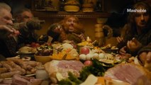 The dwarves from 'The Hobbit' host Thanksgiving Dinner in 2016 — Altered Movie Scenes