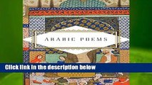 Arabic Poems (Everyman s Library Pocket Poets)