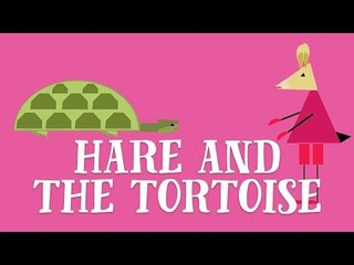 Hare and the Tortoise Read by Bobby Davro | Animated Fairy Tales