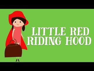 Little Red Riding Hood Read by Anita Harris | Animated Fairy Tales