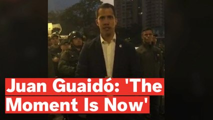 Venezuela Coup: Juan Guaidó Declares 'The Moment Is Now'