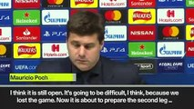 (Subtitled) It is still open, assures Pochettino after Tottenham lose 0:1 against Ajax in UCL semi-final