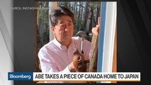 Shinzo Abe Takes a Piece of Canada Home to Japan