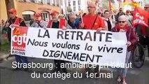 Manifestation du 1er mai à Strasbourg