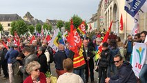 Hennebont. Manifestation du 1er mai