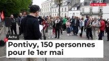 Pontivy, 150 personnes rassemblées pour le 1er mai