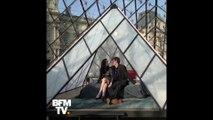 Ils ont trinqué devant la Joconde, dîné face à la Vénus de Milo et dormi sous la pyramide du Louvre