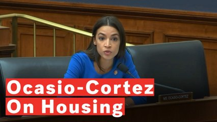 Alexandria Ocasio-Cortez Says It's 'Morally Wrong' That Housing Departments In NYC Are Underfunded