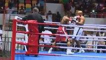 Gala international de boxe   Les exploits de Yéo l'abobolais