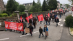 Carhaix. Manifestation du 1er mai