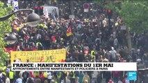 1er-Mai : Philippe Martinez (CGT) contraint de quitter la manifestation parisienne