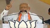 Public chant Modi-Modi during PM Modi's speech in Kaushambi   Oneindia News