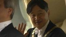 Naruhito rinde homenaje a su padre en su primer discurso como emperador