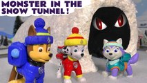 Paw Patrol Snow Monster in the Tunnel Mystery Challenge Rescue with Dinosaurs for Kids in this Family Friendly Full Episode English Story for Kids ft The Funny Funlings