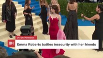 Emma Roberts Is Relaxed And Surrounded By Loved Ones