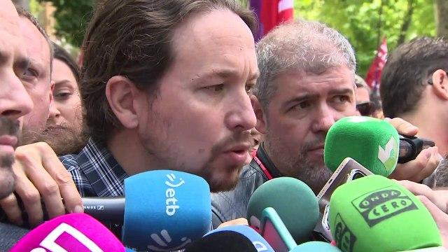 """Iglesias acusa a Juan Guaidó de """"buscar un baño de sangre"""" en Venezuela"""