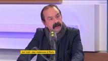 """""""Je vais lui écrire"""" assure Philippe Martinez à propos de Christophe Castaner"""