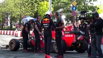 Max Verstappen pays tribute to Ayrton Senna at The Great Run