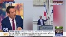 """Florian Philippot sur le drapeau européen décroché: """"Il a été rejeté par les Français"""""""